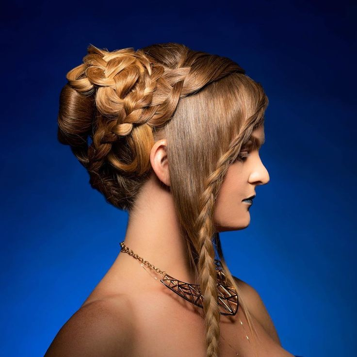Braided hairstyles braids hair cornrows french braid twist goddess braids   – hairstyles for girls kids
