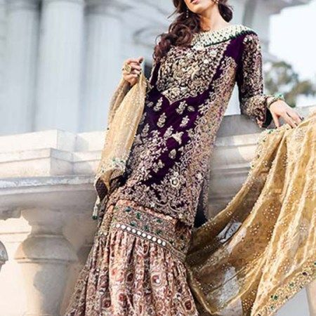 Sana Yasir Suffuse Bridal Collection Vintage Style 2016 5