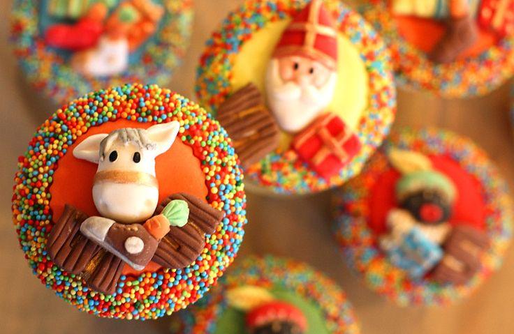 Sinterklaas cupcake