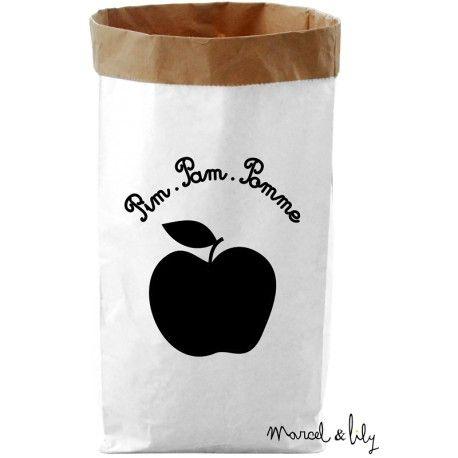 """Paper Bag """" Pim, Pam, Pomme"""""""""""
