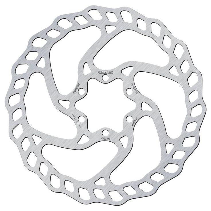 Disque de frein Galfer Bike Wave 160mm standard 6 trous