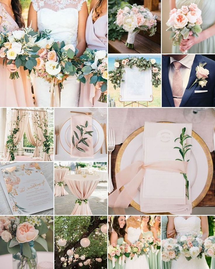 Sage And Blush Wedding Combinations Sage Wedding Colors May Wedding Colors Sage Wedding