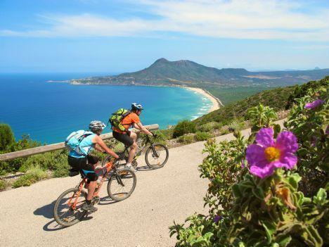 La Costa Verde Classic mountain bike holiday in Sardinia, Italy