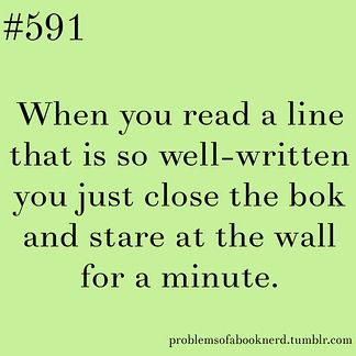 "Yes, it's spelled wrong but still true ;) ""19 Problems Only Book Nerds Understand 