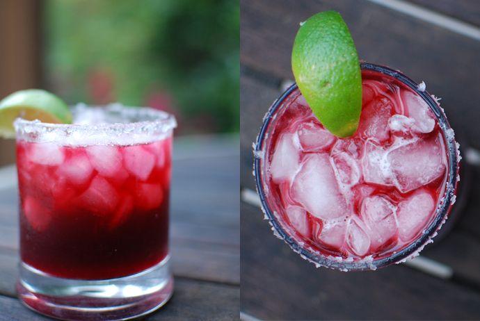 Roasted Jalapeno Blackberry Margarita | recipe for Roasted Jalapeno Infused Tequila | via kitchen konfidence