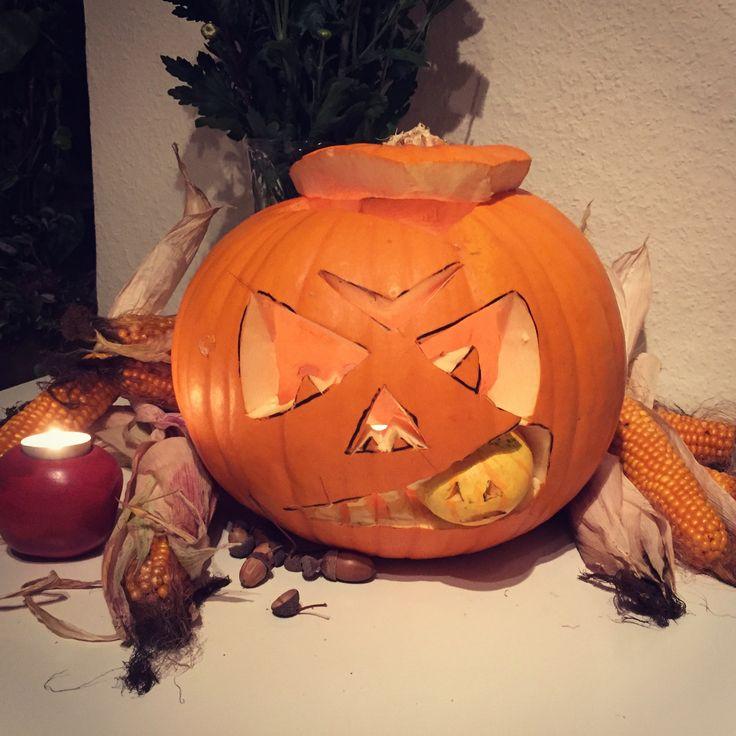 Halloween Pumpkin DIY