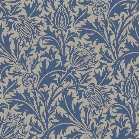 Thistle Linen/Indigo
