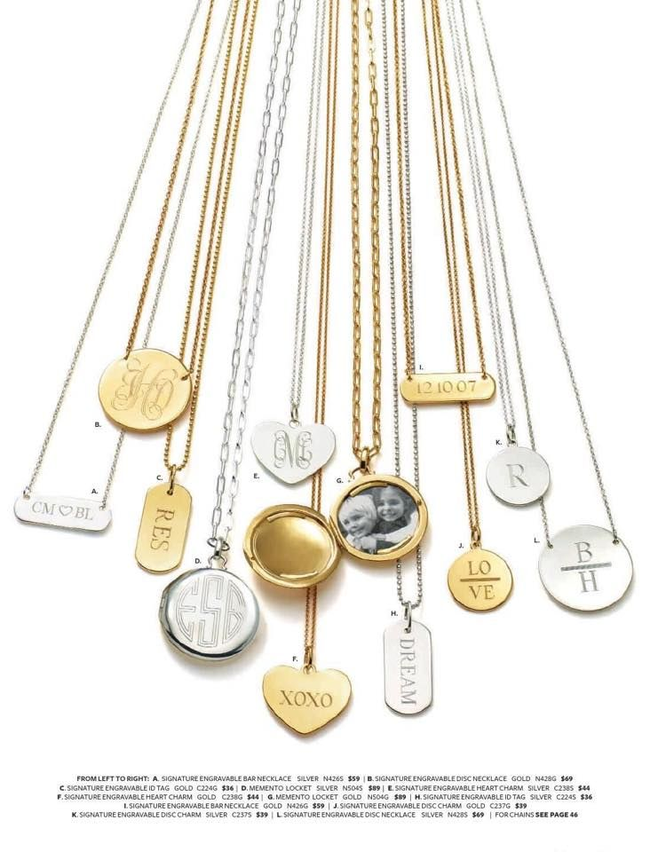Check out these beautiful engravables by stella&dot!  Just in time for Mother's Day, Wedding Season and Graduation!  Available here:  www.stelladot.com/monicaverchick