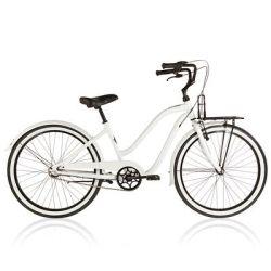 Bicicletas adulto Ciclismo - BICI CRUISER 59ERS pure white B'TWIN - Ciclismo