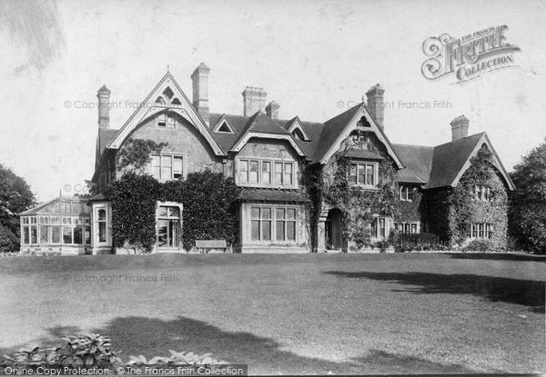 Merstham, Oakley 1907, from Francis Frith