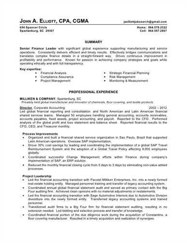 Resume Examples Big 4 Accounting Accounting Examples Resume