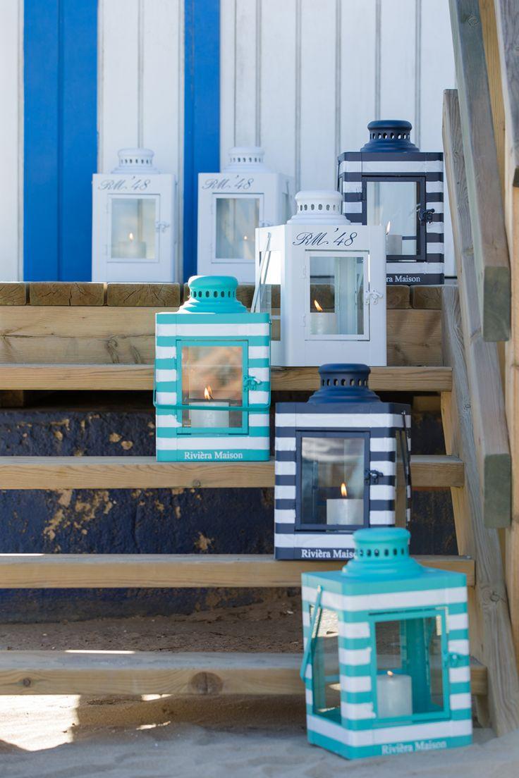 RM Lanterns (Hampton Bay 48, Hampton Bay Stripe)
