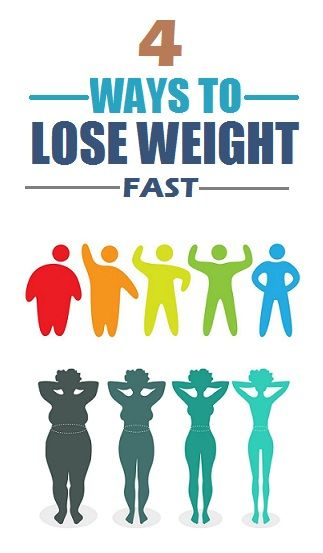 4 Ways to Lose Weight Fast