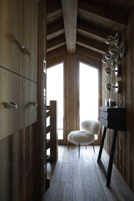 Chalet courchevel d coration montagne de prestige de luxe for Salon de luxe moderne