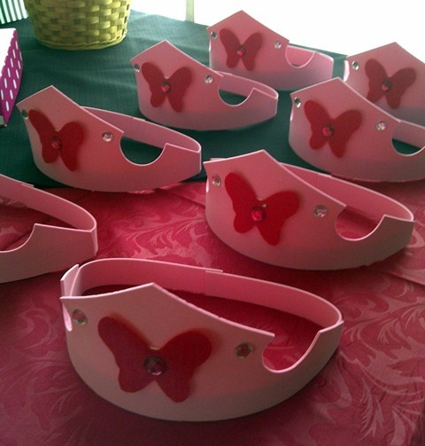 Barbie Mariposa Crowns