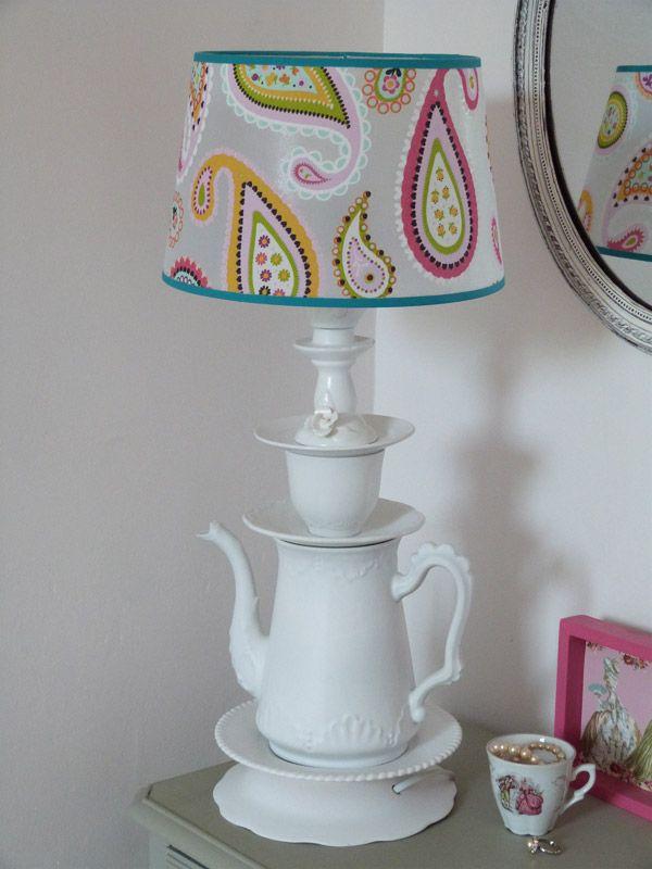 Lampe vaisselle « Couture et turbulences
