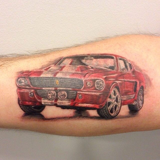 8 best Ford Shelby Mustang Tattoo Ideas images on Pinterest | Vintage cars, Ford mustangs and