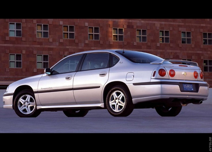 2003 Chevrolet Impala LS Four Door Sedan