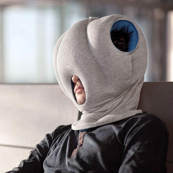 The Power Nap Head Pillow - Hammacher Schlemmer. I'm imagining @Nina Gonzalez S wearing one!!!