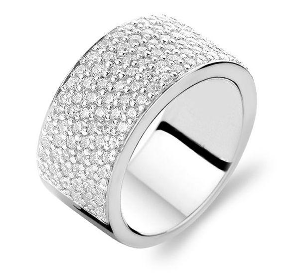 Ti Sento Sterling Silver Ring 1485ZI