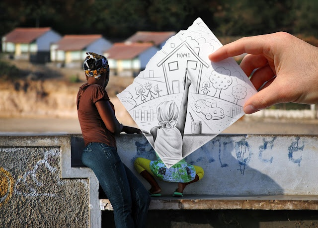Pencil Vs Camera By Benheine  Mais: http://dezignhd.blogspot.com.br/2012/05/pencil-vs-camera-by-benheine.html