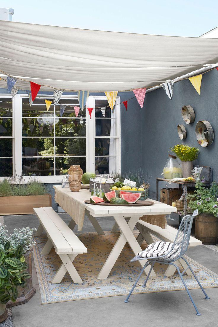 An Inspiring Outdoor Dining Room  - CountryLiving.com