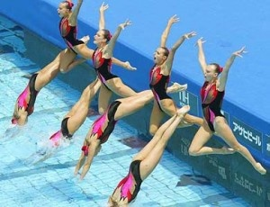 Olympics Synchronised Swimming