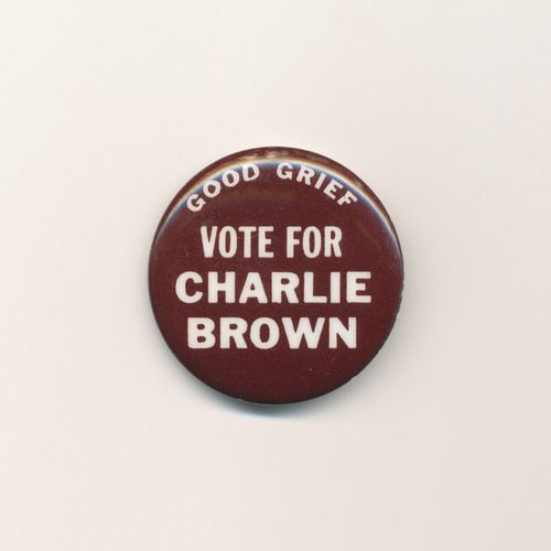 Vote for Charlie Brown