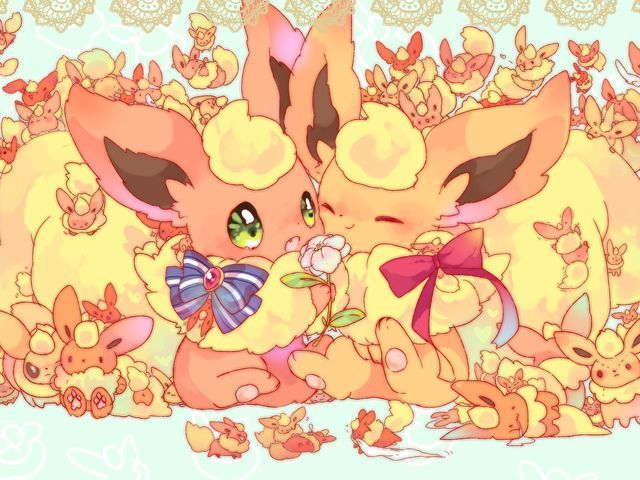 I got: Flareon! What Eeveelution Are You?