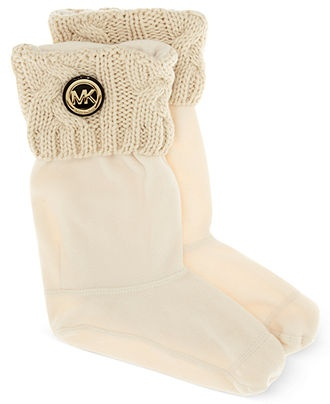 MICHAEL Michael Kors Boot Liners, Faux-Fur Boot Liners - Shoes - Macy's- so want these!
