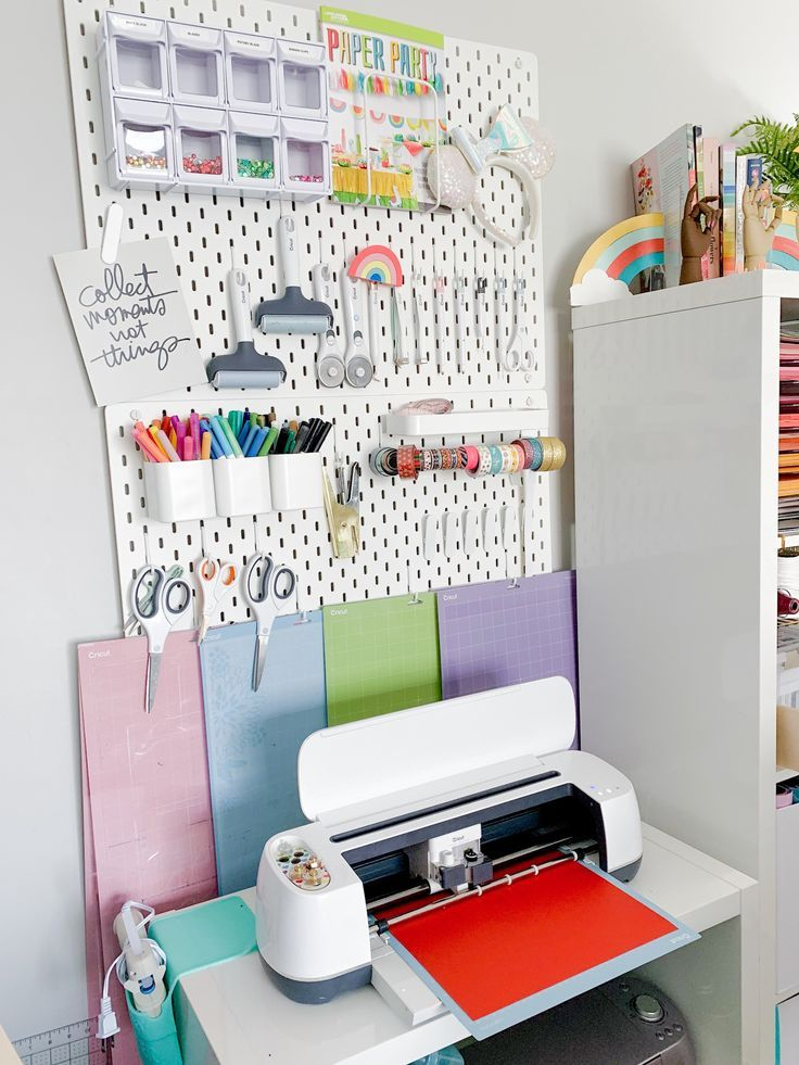 Great Ways To Organize Your Cricut Supplies