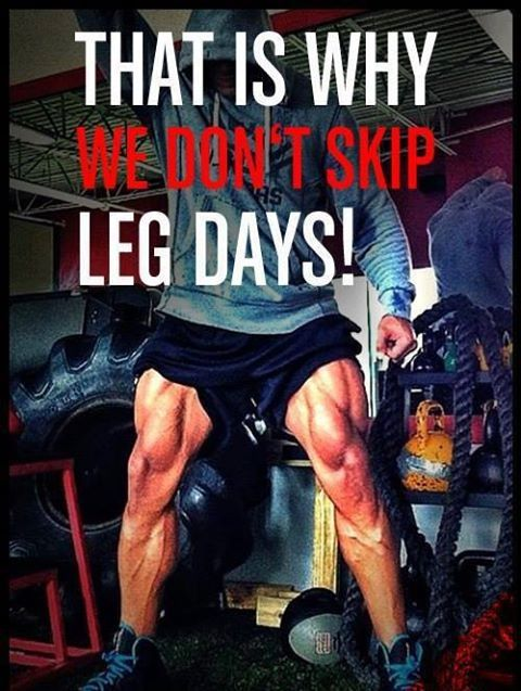 We dont skip leg days quotes quote leg fit fitness muscles ...