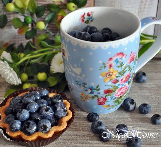 porcelana Les Fleurs blue