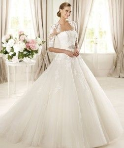 Pronovias 2013 Bridal Gown DOMINGO 252x300 Pronovias 2013 Wedding Dress: Glamour Collection