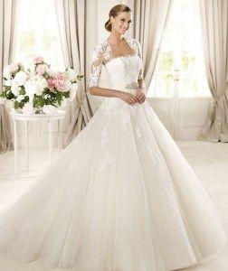 Pronovias 2013 Bridal Gown DOMINGO 252x300 Pronovias 2013 Wedding Dress: Glamour Collection