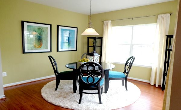 This casual dining nook from lennar maryland is perfect for Casual dining room ideas pinterest