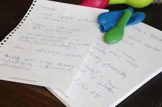 Ania mama Agnieszki: Sylwestrowa zabawa w odliczanie godzin