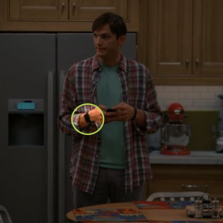 Fans of Two and a Half Men may catch a certain crowdfunded gadget on Ashton  Kutcher's wrist tonight :)