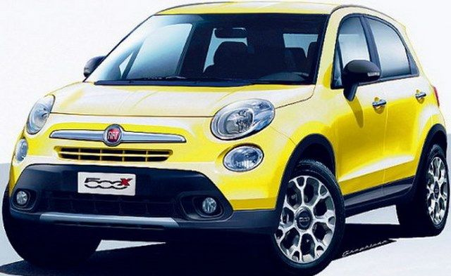 Fiat 500X New Render Full Review