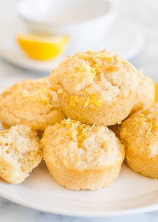 The Most Lemony of Lemon Muffins by thekitchn #Muffins #Lemon