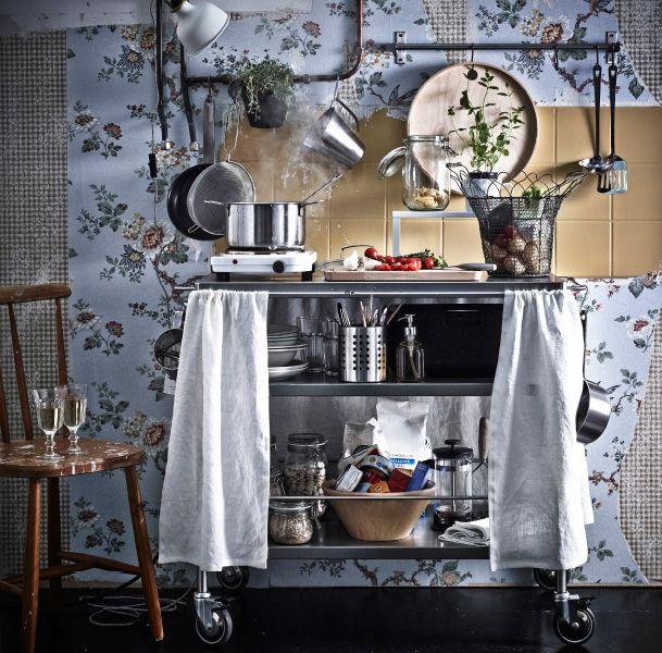 506 best house ikea jordan images on pinterest for Temporary kitchen ideas
