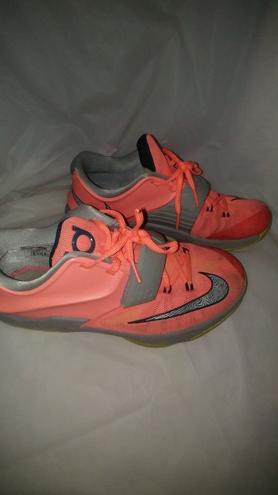 the latest f42d5 5df9f Nike KD 7 VII GS 35000 DEGREES Mango Youth Size 7Y #Nike ...