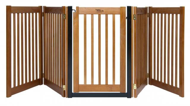 Highlander Walk Thru 5 Panel Gate Cover wide area with swing gate to walk through