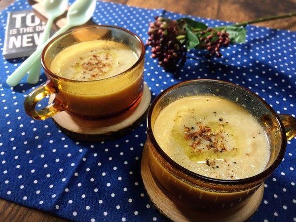 玉ねぎと豆乳のポタージュスープ