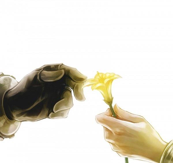 Cloud Strife and Aerith Gainsborough. Final Fantasy VII.