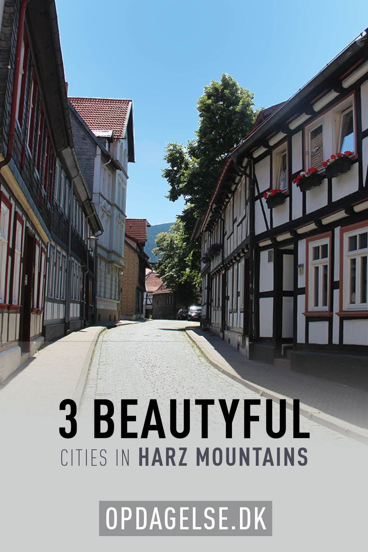 Harz Mountains - beautiful cities