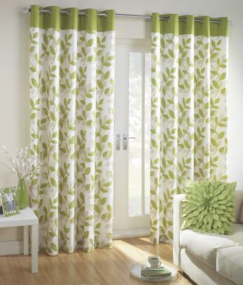 Green And Cream Curtains For Kitchen Bay Window Bought