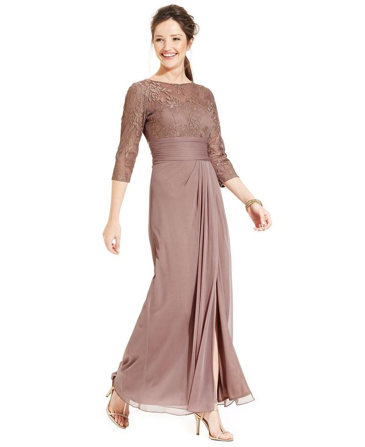 The Blushing Hue On Patra S Sweeping Gown Adds Ladylike Charm While A Metallic Lace Bodice And Daring Deliver Right Amount Of Drama Sweep Your H