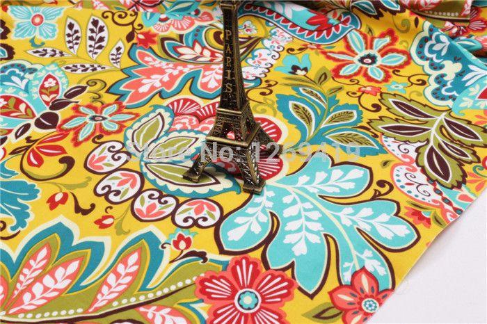 150 50 cm 2 stks heldere gele bloem gedrukt katoen vb stof telas diy patchwork naaien baby speelgoed quilten beddengoed garment tecido in Weefsel patchwork, bloemenprint stof, quilten stof, katoen fat quarter bundel, stoffen textiel, voor het naaien va van stof op AliExpress.com | Alibaba Groep