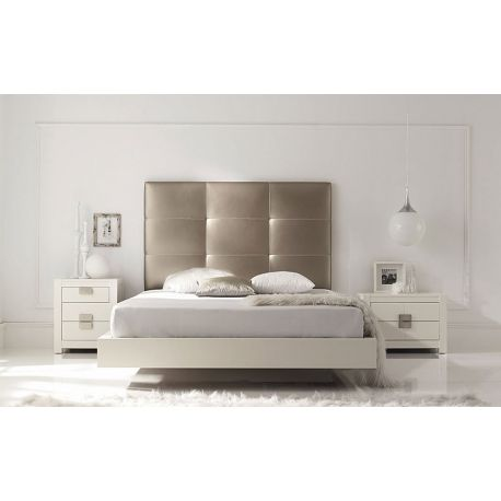 cabecero tapizado de cama en polipiel con cuadros grandes para hogar y hoteles cabeceros baratos